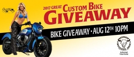 2017 Great Custom Bike Giveaway
